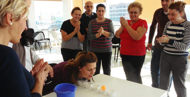 Trajnimi ne Prishtine - Team Building